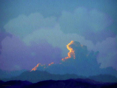 Patrick Painting - Glowing Cloud by Patrick J Osborne