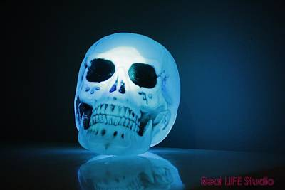 Photograph - Glowing Skull by Al Fritz