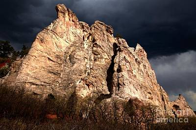 Photograph - Glowing Under Storm Clouds by Adam Jewell