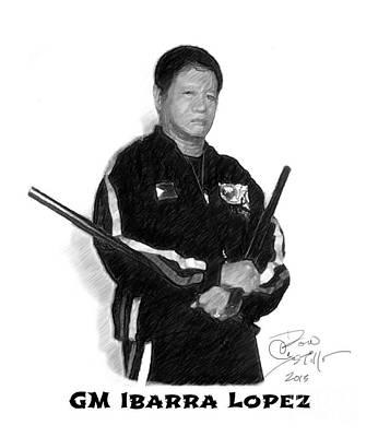 Kali Digital Art - Gm Ibarry Lopez by Donald Castillo