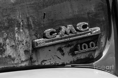 Photograph - Gmc 100 Logo by JT Lewis