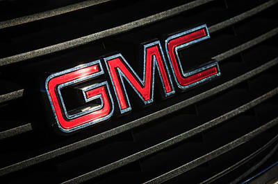 Photograph - Gmc Emblem - 1634c by Jill Reger