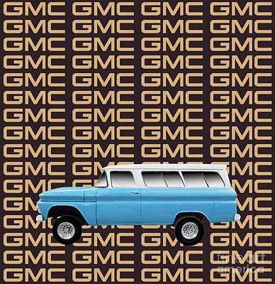 General Motors Digital Art - Gmc Tribute by Bruce Stanfield