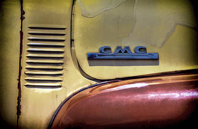 Photograph - Gmc Truck by Ken Smith