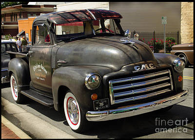 Photograph - Gmc Trucking by James C Thomas