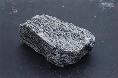 Gneiss, A Metamorphic Rock Art Print