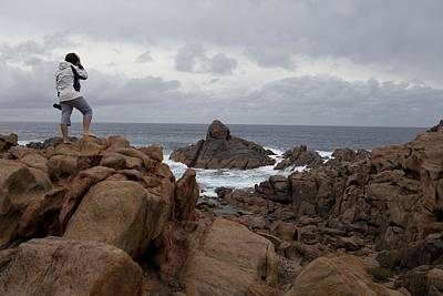 Gneiss Outcrop At Canal Rocks, Australia Art Print