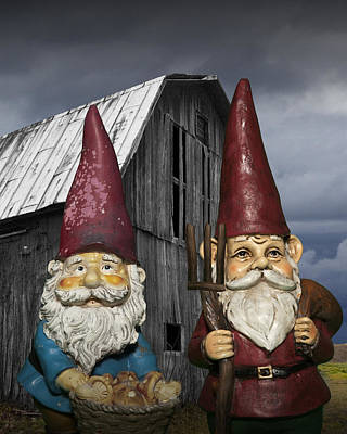 Photograph - Gnome Gothic by Randall Nyhof