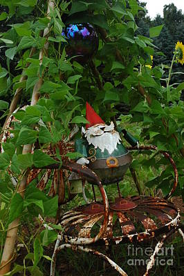 Photograph - Gnomes And Vines by Christiane Hellner-OBrien