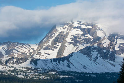 Photograph - Gnp Heaven's Peak by Michael Gooch