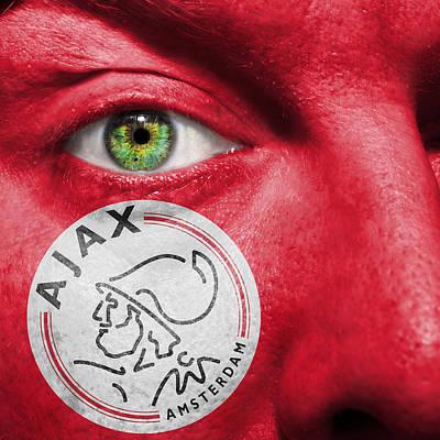 Photograph - Go Afc Ajax by Semmick Photo
