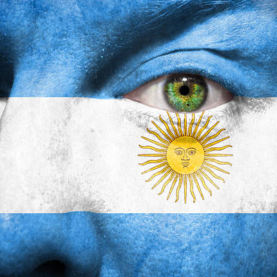 Photograph - Go Argentina by Semmick Photo