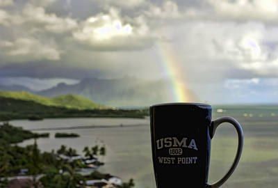 Photograph - Go Army Beat Navy Coffee by Dan McManus