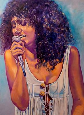 Grace Slick Painting - Go Ask Alice by Christina Clare