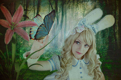 Go Ask Alice Art Print by Christine Holding