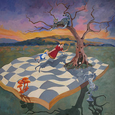 Painting - Go Ask Alice by Susan McNally