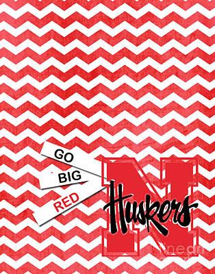 Go Big Red Art Print