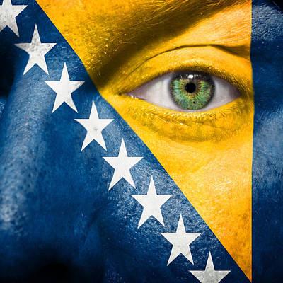 Photograph - Go Bosnia And Herzegovina  by Semmick Photo