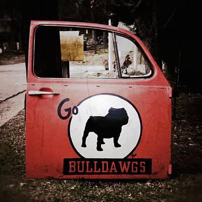 Go Bulldawgs Print by Brandon Addis