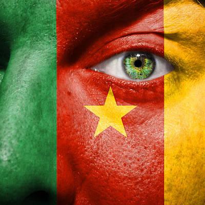 Go Cameroon Art Print