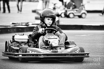 Go Kart Wall Art - Photograph - Go-carting by Nilay Tailor