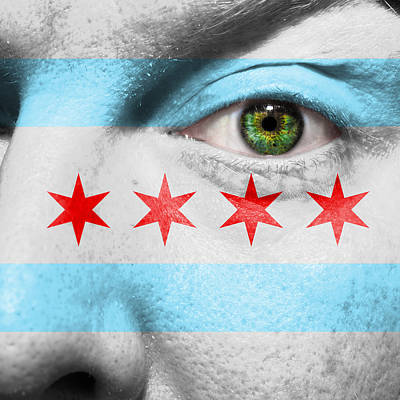Photograph - Go Chicago by Semmick Photo