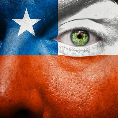 Photograph - Go Chile by Semmick Photo