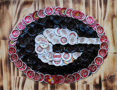 Ale Mixed Media - Go Dawgs  by Kay Galloway