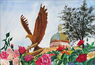 Go Eagles  Art Print