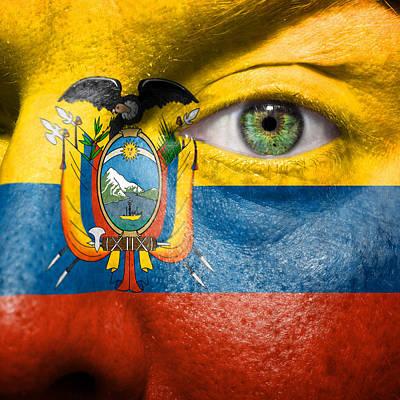 Photograph - Go Ecuador by Semmick Photo