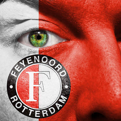Photograph - Go Feyenoord by Semmick Photo