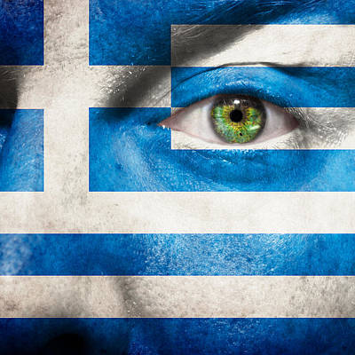 Photograph - Go Greece by Semmick Photo