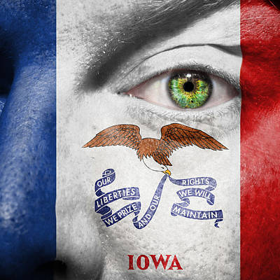 Photograph - Go Iowa by Semmick Photo