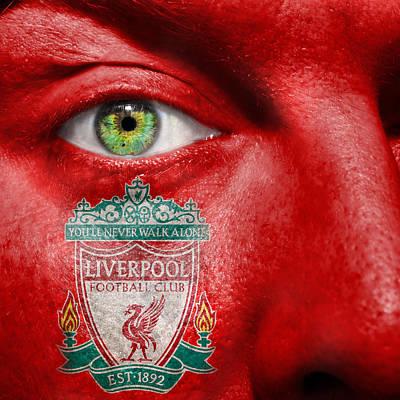 Go Liverpool Fc Art Print