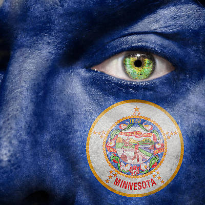 Photograph - Go Minnesota by Semmick Photo