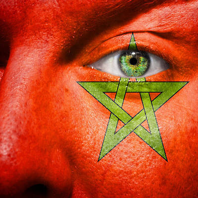 Pentagram Photograph - Go Morocco by Semmick Photo