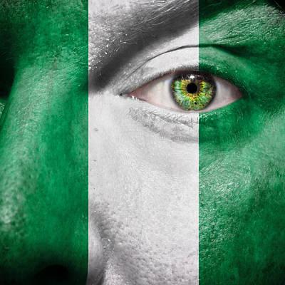 Photograph - Go Nigeria by Semmick Photo