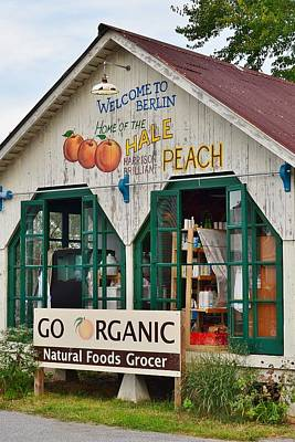 Photograph - Go Organic Berlin Maryland by Kim Bemis