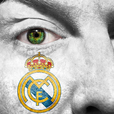 Merengue Photograph - Go Real Madrid by Semmick Photo