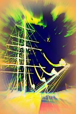 Photograph - Hopefully We Will Go Sailing Tomorrow by Hilde Widerberg
