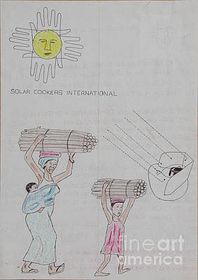 Drawing - Go Solar by Lunda Vincente