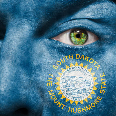 Photograph - Go South Dakota by Semmick Photo