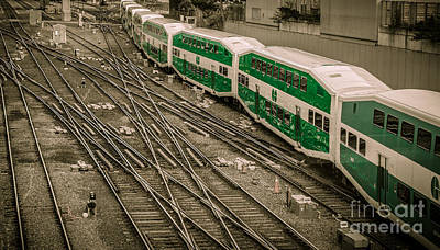 Photograph - Go Train by Bianca Nadeau