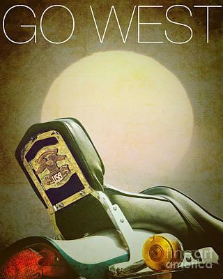 Photograph - Go West by Edmund Nagele