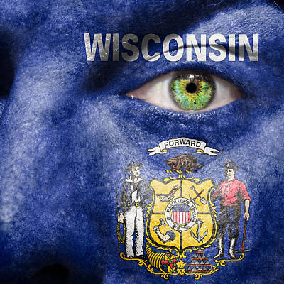 Photograph - Go Wisconsin by Semmick Photo