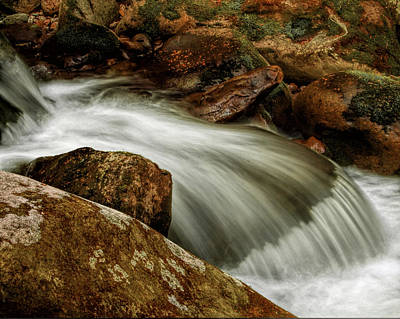 Go With The Flow Art Print by Dave Bosse