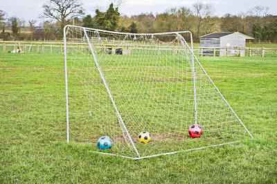 Football Royalty-Free and Rights-Managed Images - Goal by Tom Gowanlock