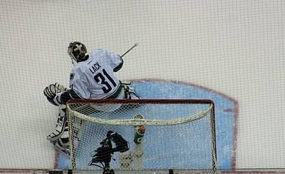 Goaltender Photograph - Goalie by Karl Anderson