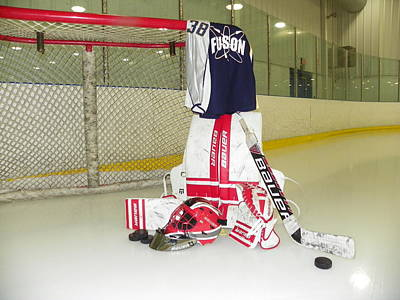 Net Photograph - Goalie by Lisa Wooten