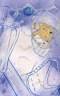 Goalie Missed Art Print by Rosemary Hayes